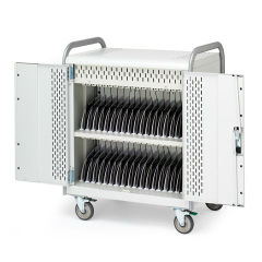 Store & Charge 36 Unit Tablet Cart