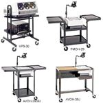 PixMobile Pre-assembled and Ready-to-Assemble Projection Carts