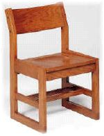 Class Act Sled Base Library Chair