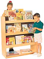 Wood Designs Library Book Storage