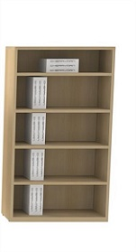 Bookcase, 5 Shelves