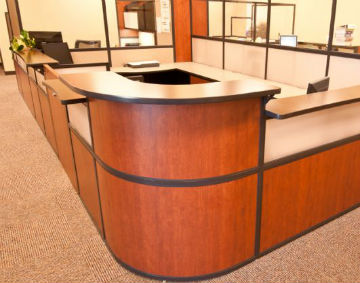 Interior Concepts Media Center Reception Furniture