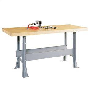 Two Station Steel Workbench