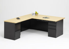 Apex Right Hand Teacher Desk with Left Hand Return