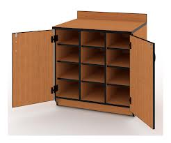 Illusions 7274 Base Cubicle Cabinet with Doors