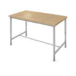 Rectangle STEM/Makerspace Table, Adj. Height