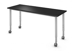 Rectangle Adjustable Height Table, 30