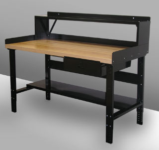 Heavy Duty Adjustable Leg Workbench