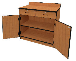 Illusions 7224 Base Cabinet with Doors & Drawers