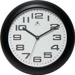Clear Office/Business Wall Clock