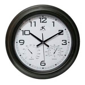 Indoor/Outdoor Garden Clock