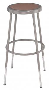 Steel Stool by National Public Seating