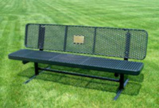 Champion Supreme Bench with Back, Expander