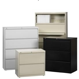 4 Drawer and 5 Drawer Lateral Files