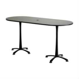 Cha-Cha Bistro Height Racetrack Table