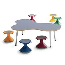 Puzzle Freely-shaped Table for School by VS