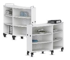 VS Shift + Curved Mobile Cabinets