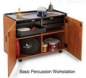 Basic Percussion Workstation/Cabinet